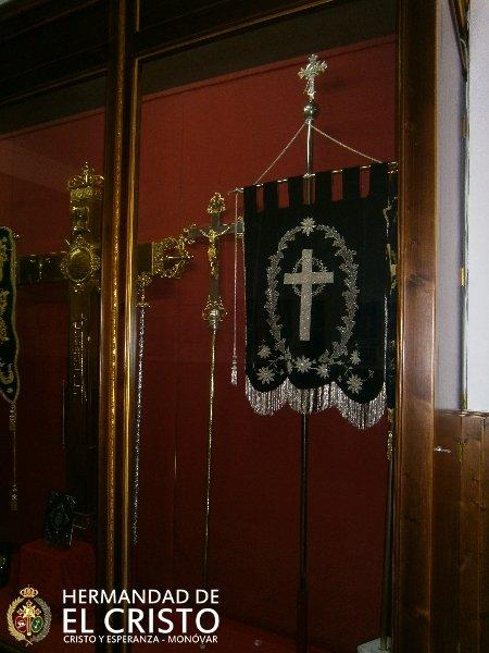 Sala principal - expositor de insignias