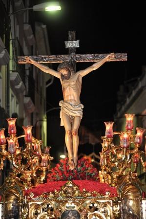 El Cristo en su paso, de Luis Poveda