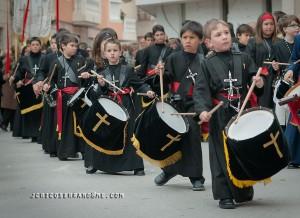 Banda de tambores infantil
