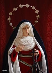 María Santísima de la Esperanza, ataviada de hebrea en 2012