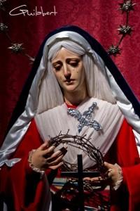 María Santísima de la Esperanza ataviada de hebrea en 2012