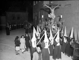 El Cristo entre los años 1947-1949.