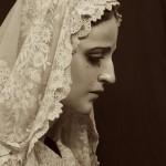 María Santísima de la Esperanza con mantilla