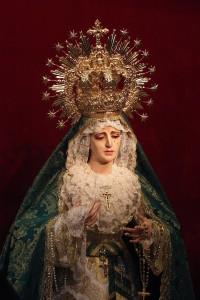 María Santísima de la Esperanza en junio de 2010