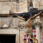 El Cristo en la procesión del Santo Entierro de 2012