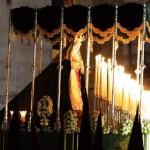 María Santísima de la Esperanza en su recogida 2012